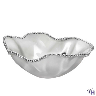 Lenox  Organics beaded wave bowl $125.00
