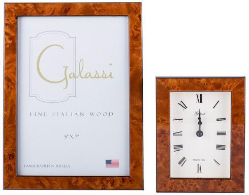 F.G. Galassi   Brown 4x6 Wood Frame $25.00