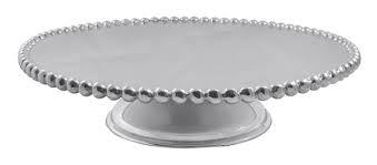 Mariposa   Pearled Cake Stand $148.00