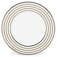 Pearl Beads Banded Accent Plate