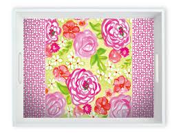 Boston International   Rose Garden Tray $60.00