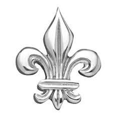 Mariposa   Fleur-de-lis Napkin Weight $14.00
