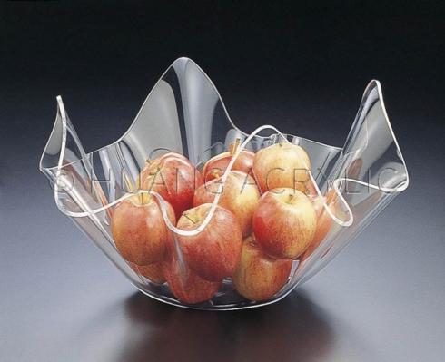 Huang Acrylic   XL ruffle bowl $30.00