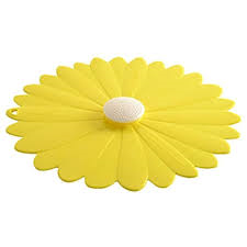 Charles Viancin   11 in Yellow Daisy Lid $15.00