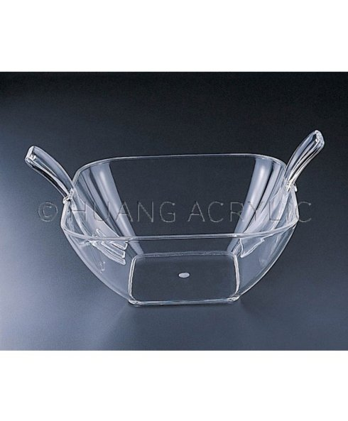 Huang Acrylic   Large square bowl $24.00