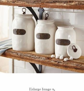 Mudpie   3 pc Bistro Canister Set $89.95