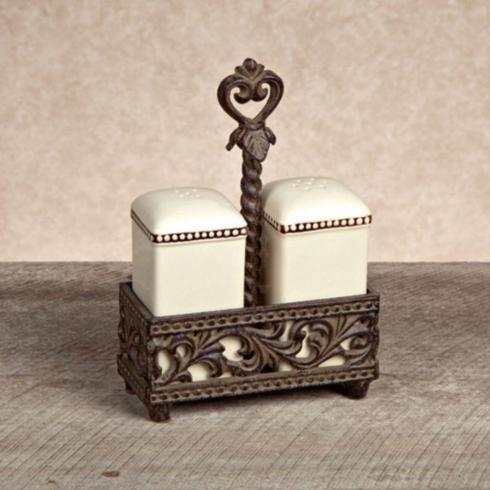 Gracious Goods   Acanthus Salt and Pepper $63.00
