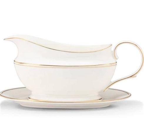 Lenox  Federal Gold Gravy Boat & Stand $199.95