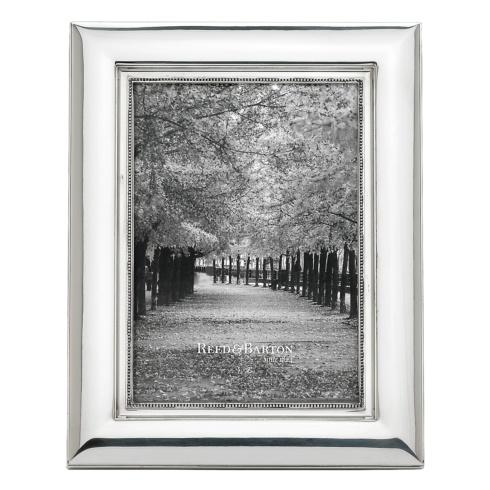Reed & Barton  Heritage Collection Curved Bead 5 x 7 Frame $90.00