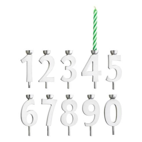$70.00 Numeric Candle Holder Set