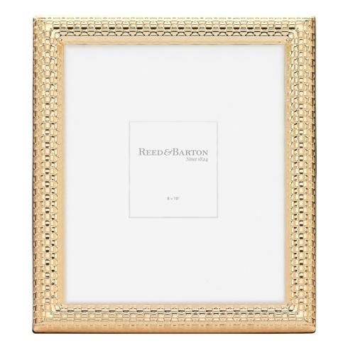 Reed & Barton  Gold Accent Frames Watchband Gold 8 x 10 Frame $70.00