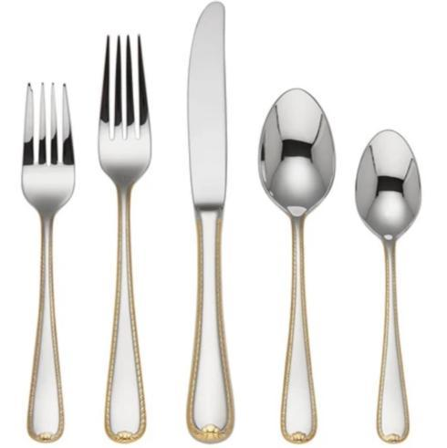 $59.95 GOLDEN RIBBON EDGE FW 5 PC PLACE SET