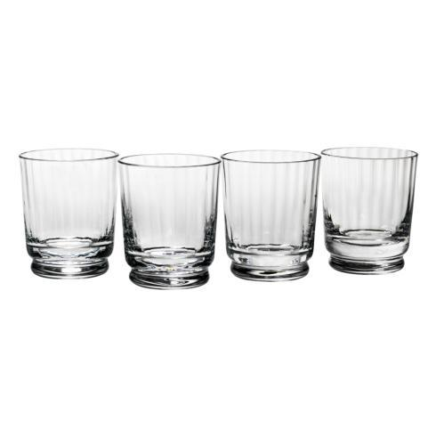 Reed & Barton  Heritage Collection Austin Double Old Fashioned Glass, Set of 4 $80.00