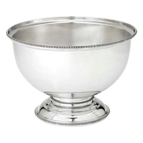Reed & Barton  Heritage Collection Banded Bead Centerpiece Bowl $225.00