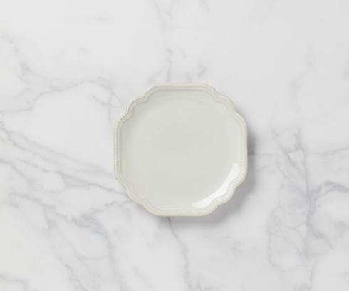 "Lenox French Perle Bead White 9"" Accent Plate $19.95"