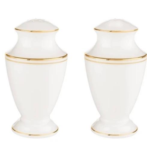Lenox  Federal Gold Salt & Pepper Shakers $89.95
