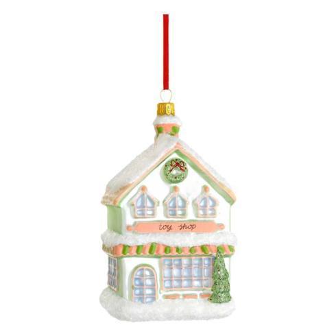 Toy Shop Blown Glass Ornament