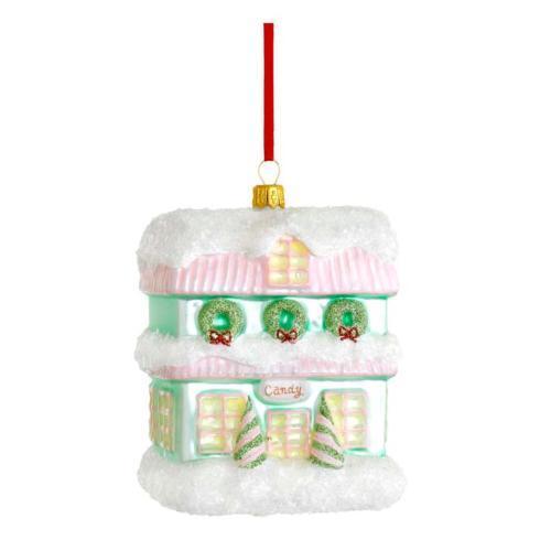 Candy Shop Blown Glass Ornament