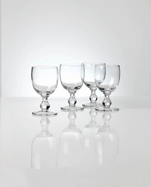 Dansk  Hanna 4pc Clear Goblet Set $50.00