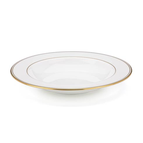 "Lenox  Federal Gold 9"" Pasta/Rim Soup Bowl $43.40"