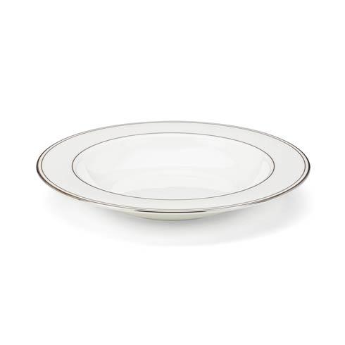 "Lenox  Federal Platinum 9"" Pasta/Rim Soup Bowl $43.40"