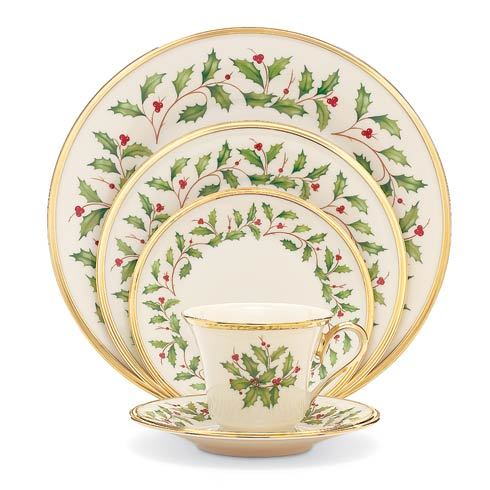 Lenox  Holiday 5-piece Place Setting Boxed $260.00