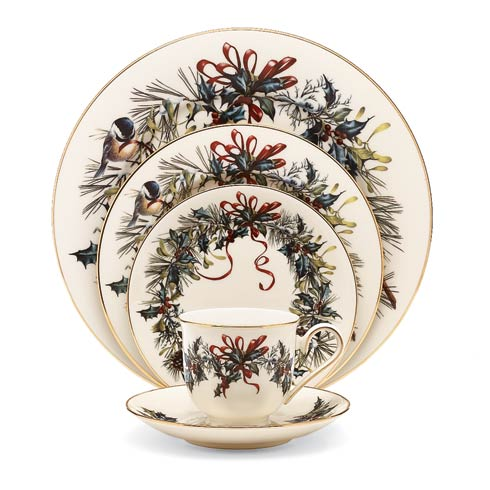 $129.95 5-piece Place Setting Boxed