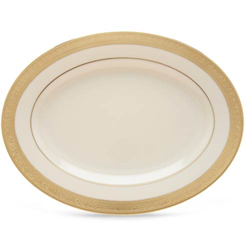 "Lenox  Westchester 13"" Oval Platter $551.95"