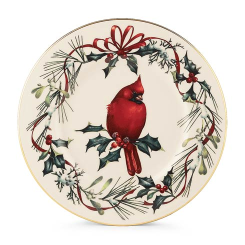 "$34.95 9"" Cardinal Accent Plate"
