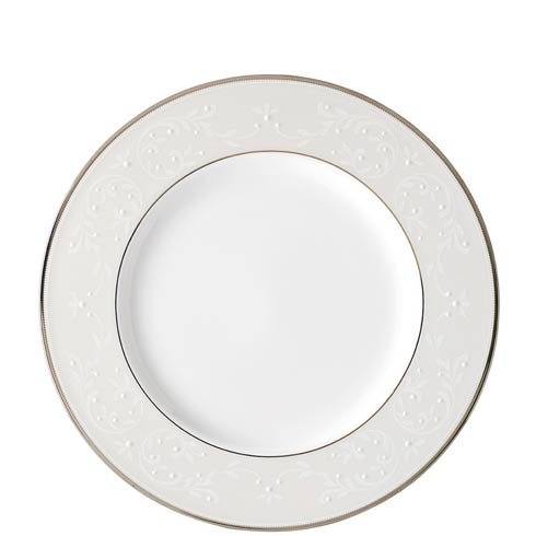 """Lenox Opal Innocence White 9"""" Accent Plate $49.95"""