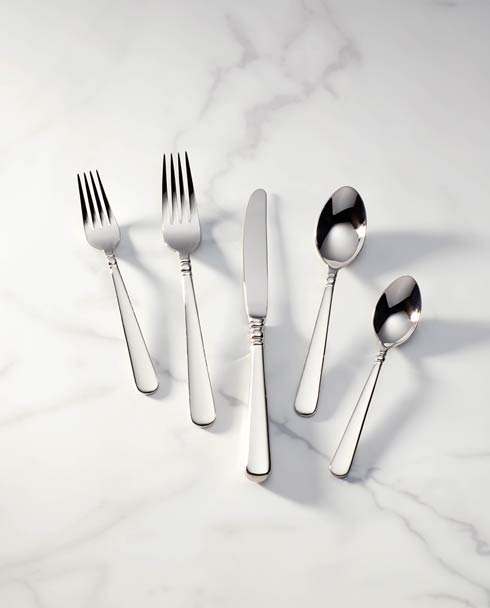Lenox  Pearl Platinum 5pc Flatware Place Set $59.95