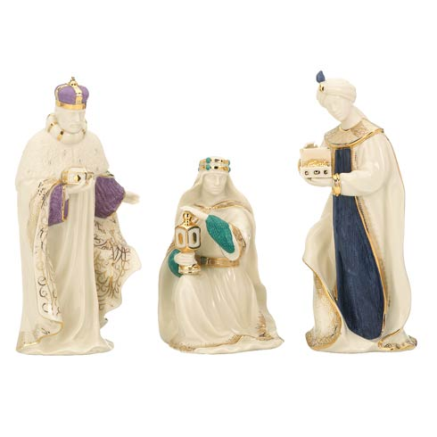 $240.95 3pc First Blessing Three Kings Figurine Set