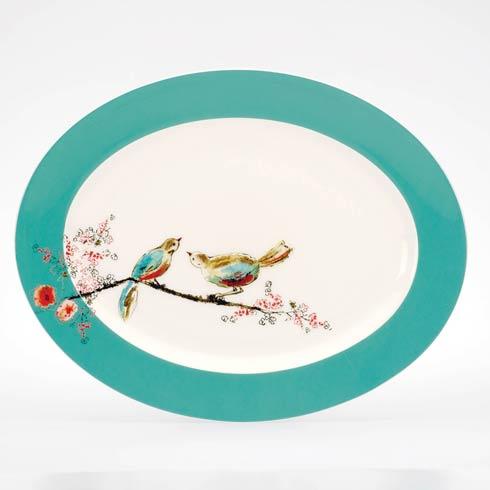 """$191.00 16"""" Oval Platter"""