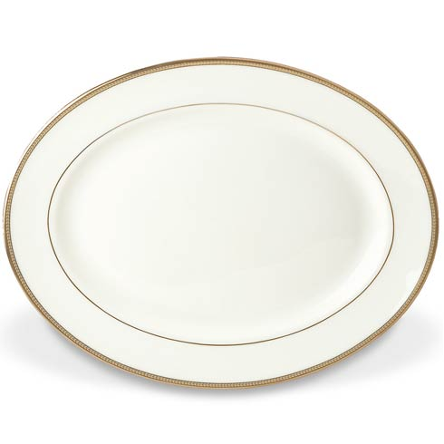 """$250.00 13"""" Oval Platter"""