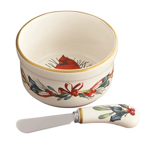 $19.95 Dip Bowl with Spreader