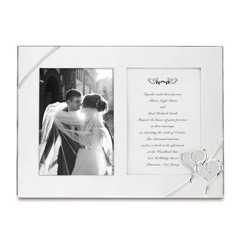 Lenox  Bridal True Love Double Invitation Frame $39.95