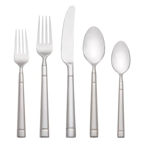 $200.00 Fair Harbor 45-piece Flatware Set