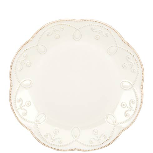 "Lenox French Perle White 9"" Accent Plate $19.95"