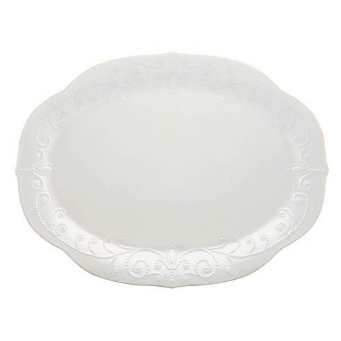 Lenox French Perle White Oval Platter $99.95
