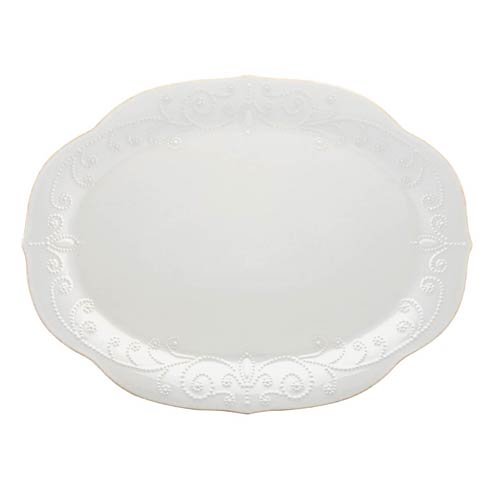 Lenox French Perle White Oval Platter $99.95