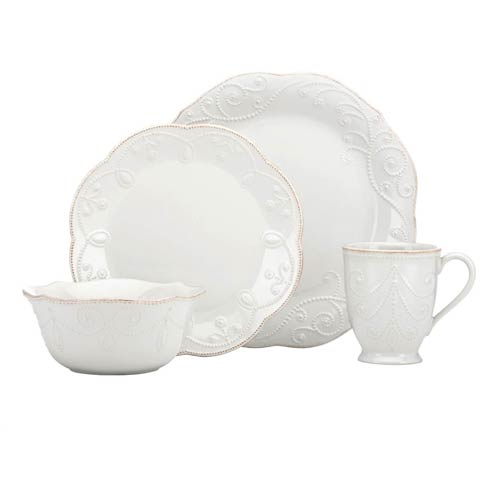 Lenox French Perle White 4-piece Place Setting $69.95