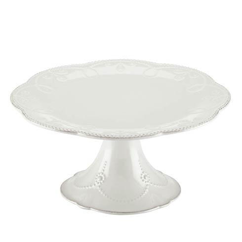 Lenox French Perle White Pedestal Cake Plate $69.95