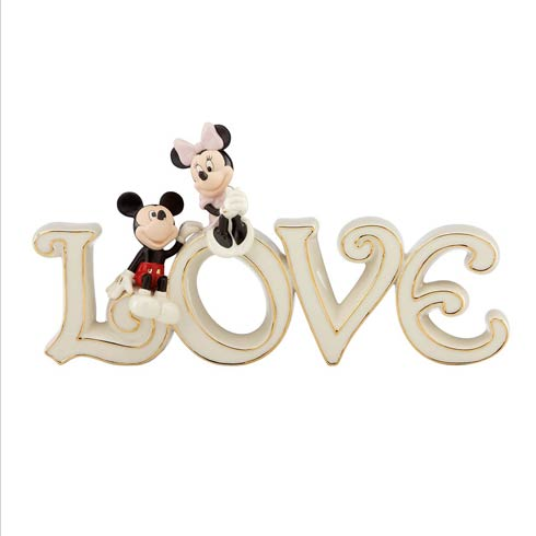 $89.95 Mickey & Minnie True Love Figurine