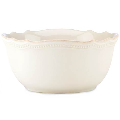 Lenox French Perle Bead White All Purpose Bowl $16.95