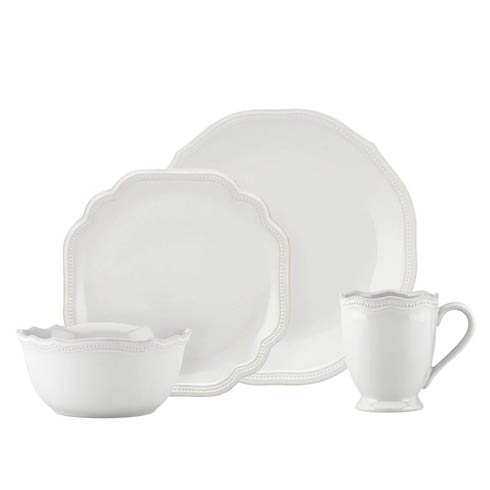 Lenox French Perle Bead White 4-piece Place Setting $69.95