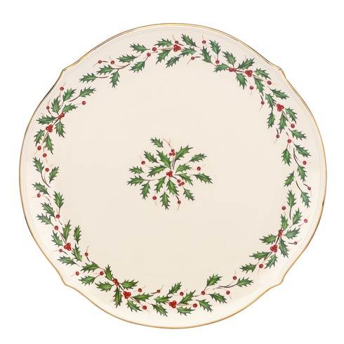 "Lenox  Holiday 13"" Round Platter $80.00"