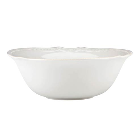Lenox French Perle Bead White Serving Bowl $79.95