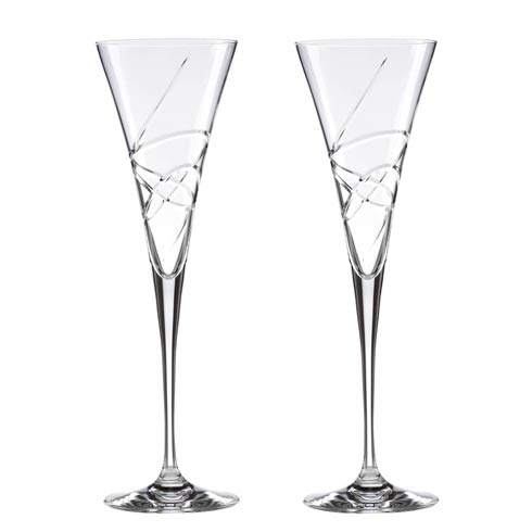 Lenox  Adorn 2-piece Crystal Toasting Flute Set $109.00