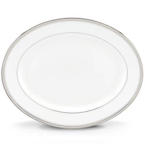 """Lenox  Belle Haven Belle Haven 13"""" Oval Platter $219.95"""