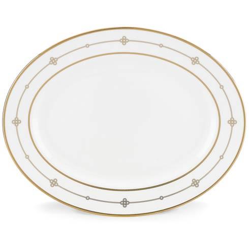 "Lenox  Jeweled Jardin 13"" Oval Platter $229.95"